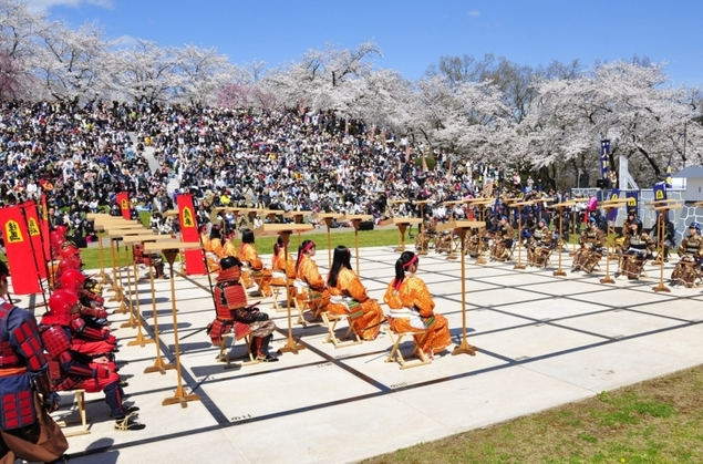 天童市 天童公園 舞鶴山 桜