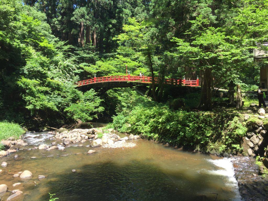 羽黒山 祓川神橋