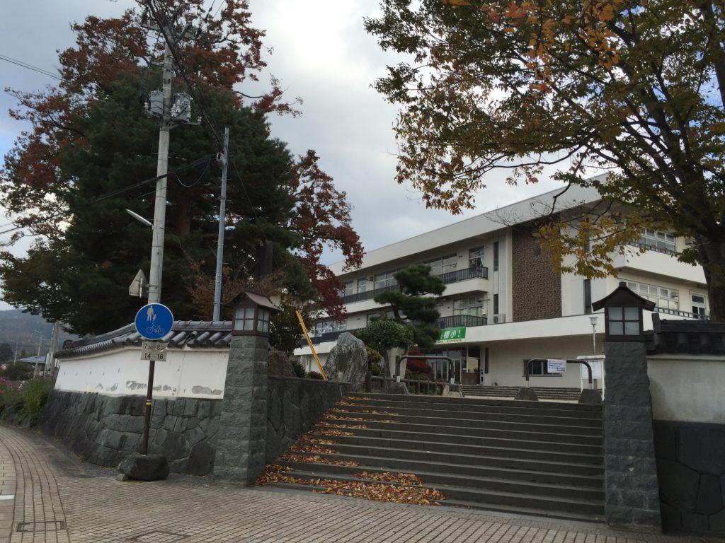 東根の大ケヤキ 東根小学校