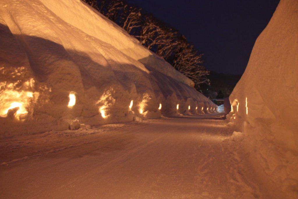 山形 雪まつり 肘折幻想雪回廊