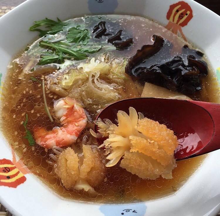 加茂水族館 レストラン 沖海月 クラゲラーメン