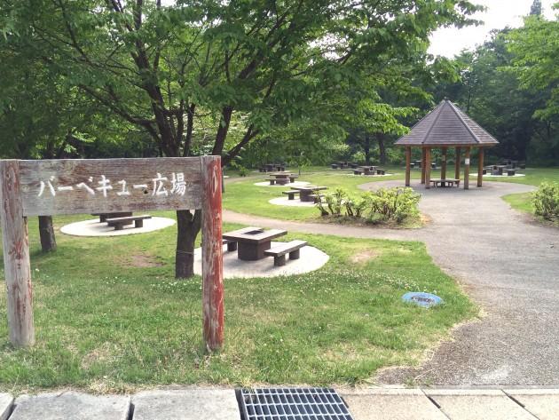 西蔵王公園バーベキュー広場 芋煮会