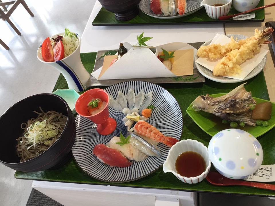 加茂水族館 レストラン 沖海月 メニュー