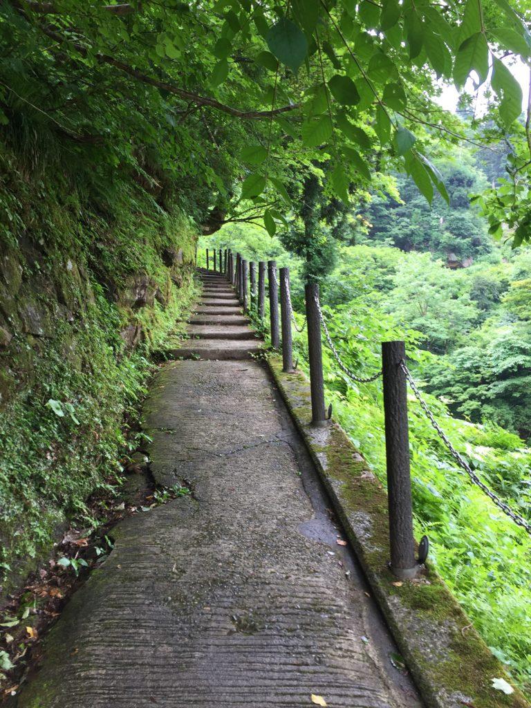 銀山温泉 銀山遊歩道 散策