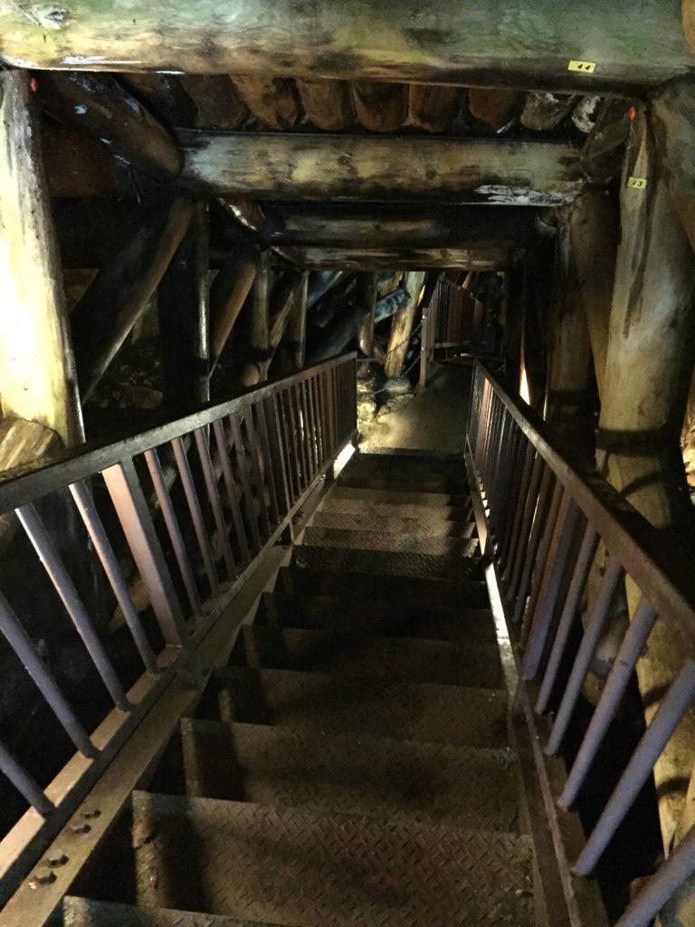 銀山温泉 銀山遊歩道 散策 銀鉱洞