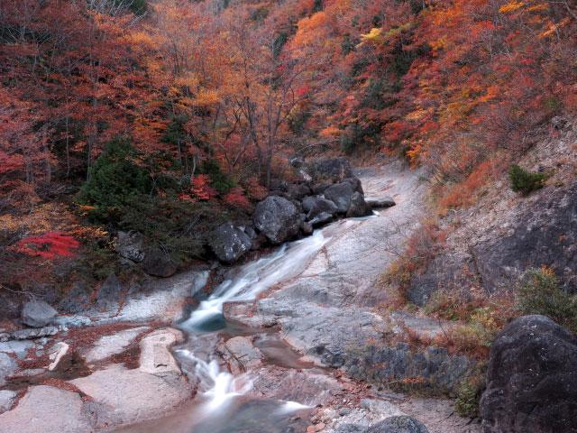滑川温泉 紅葉