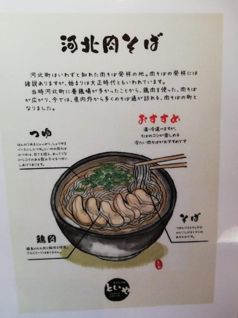 河北肉そば 元祖かつ丼 といや ほなみ分店 寒河江市