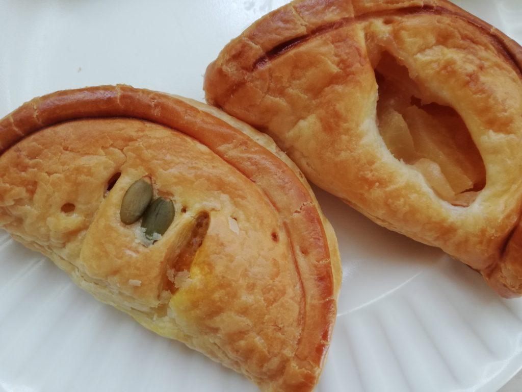 寒月堂 尾花沢市 カボチャパイ りんごのパイ