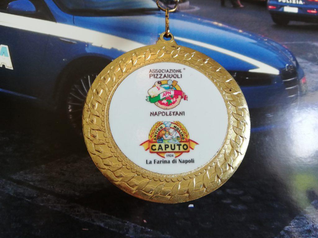 緑のイスキア メダル