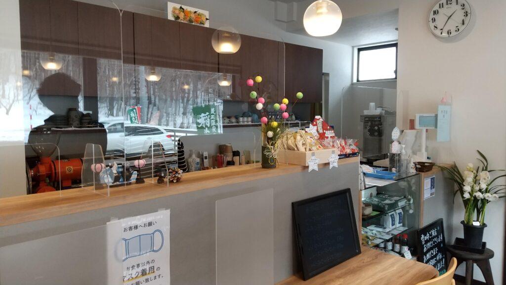 蔵王温泉 稲花餅の里さんべ 店内